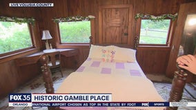 Gamble Place: Home of Snow White cottage replica