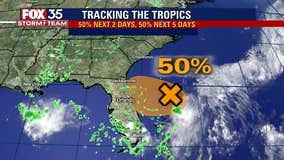Monday declared FOX 35 Storm Alert Day as system moves closer to Florida