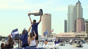 Tampa Bay Lightning championship boat parade planned for Monday