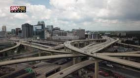SKYFOX Drone surveys I-4/State Road 408 interchange