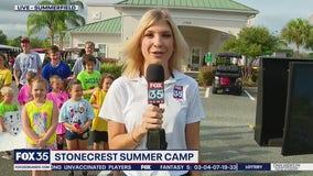 FOX 35 Storm Team Thunder Truck Summer Camp Tour