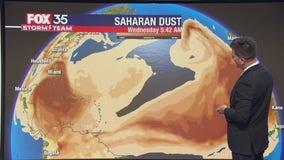 Saharan dust keeping tropics quiet as it heads toward Florida