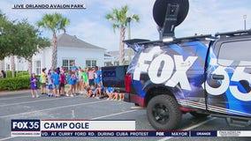 FOX 35 Storm Team Thunder Truck Summer Camp