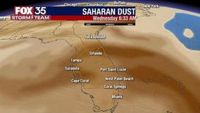 It's here! Saharan dust arrives in Central Florida