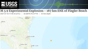 USGS: Magnitude 3.9 'experimental explosion' reported near same site of Navy testing in June