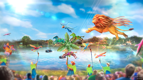 'Disney KiteTails' show to debut at Animal Kingdom on October 1st