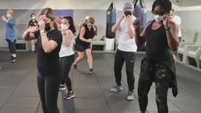 Airline workers train in self-defense amid rise in unruly passengers