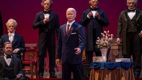 President Biden figure to debut at Disney's Hall of Presidents