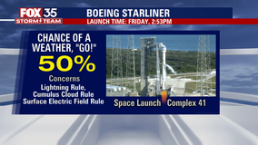 Will weather cooperate for Boeing's Starliner liftoff?
