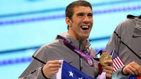 Amid chaotic waters in Tokyo, at this time in 2012 Phelps broke Olympic world record