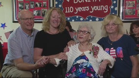 Michigan's 2nd-oldest resident celebrated her 110th birthday this Independence Day