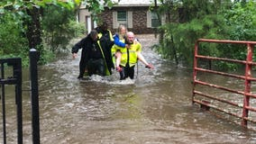 Woman rescued from home due to flooding from Elsa in Gainesville