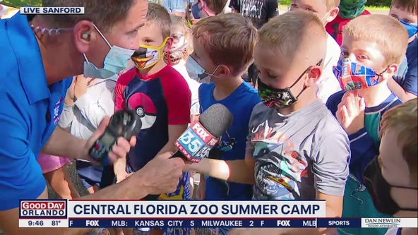 FOX 35 Storm Team Thunder Truck at the Central Florida Zoo