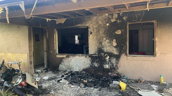 Smoke alarm alerts family to patio fire caused by mosquito candle, officials say