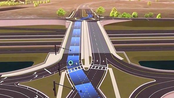 Construction set to begin on ChampionsGate diverging diamond interchange