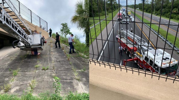 I-95 reopens in Flagler County after deputies respond to emergency on Palm Coast overpass