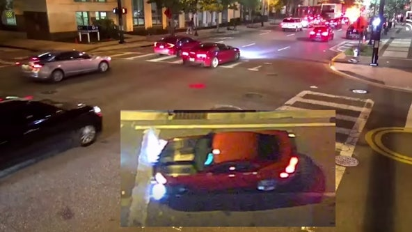 Police seek driver who hit several cars, injured woman in downtown Orlando