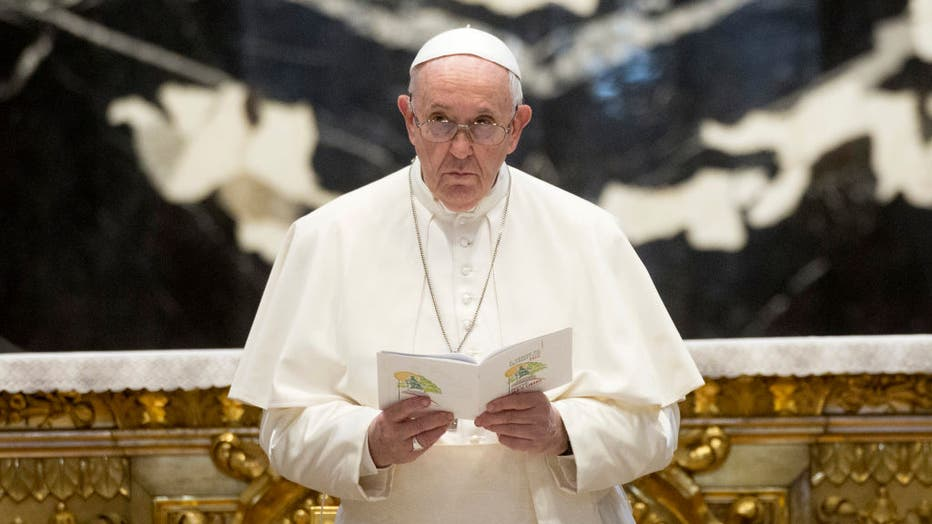 8d6c13cf-Pope Francis Leads A Day Of Prayer For Peace In Lebanon