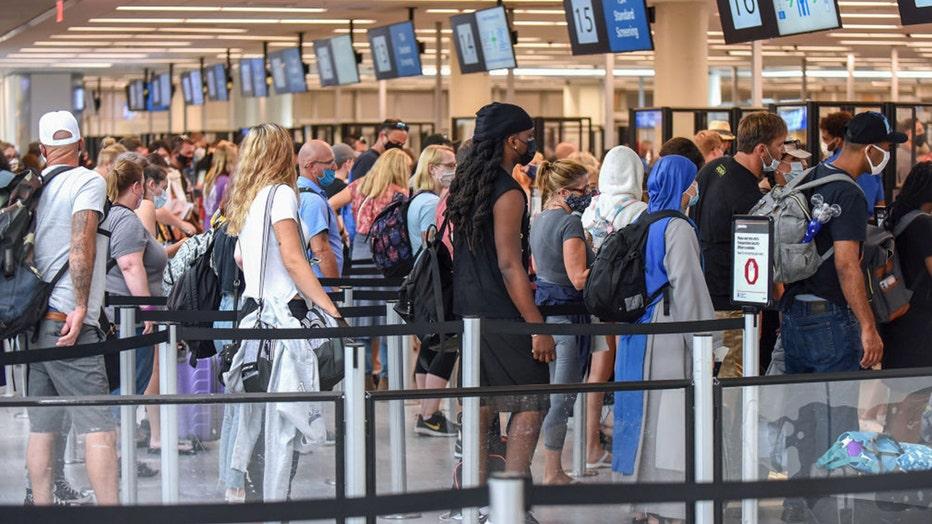 TSA July Fourth