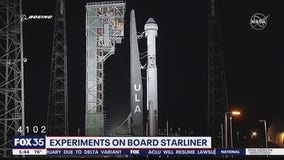 Experiments on board Boeing Starliner