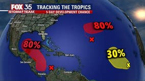 Chances increase for systems to potentially develop into next named storms
