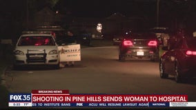 Shooting in Pine Hills sends woman to hospital