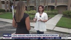 CDC issues new eviction moratorium