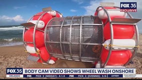 Body cam shows wheel wash onshore