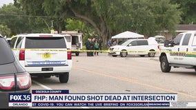 Body of gunshot victim found at Osceola County intersection