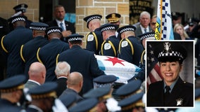 Ella French funeral: Chicago pays respect to officer killed in line of duty