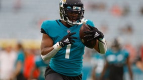 Jaguars RB Travis Etienne out likely out for season with injury