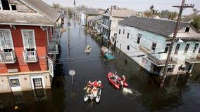 Hurricane Ida hits Louisiana on anniversary of Hurricane Katrina