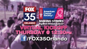 Making Strides Against Breast Cancer Kickoff Celebration