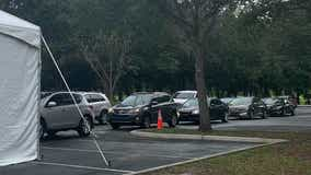 New drive-thru COVID testing site opens in Orlando as cases rise