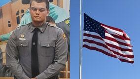 Gov. DeSantis orders flags fly at half-staff in honor of fallen Daytona Beach officer