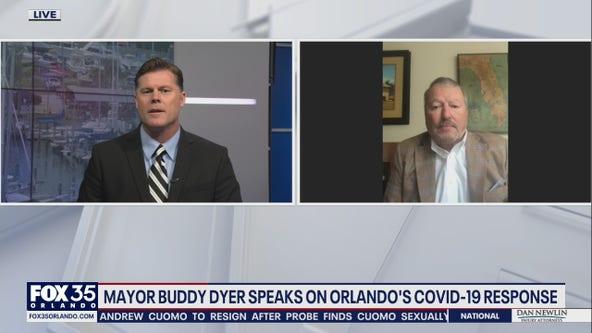 Mayor Buddy Dyer speaks on Orlando's COVID-19 response
