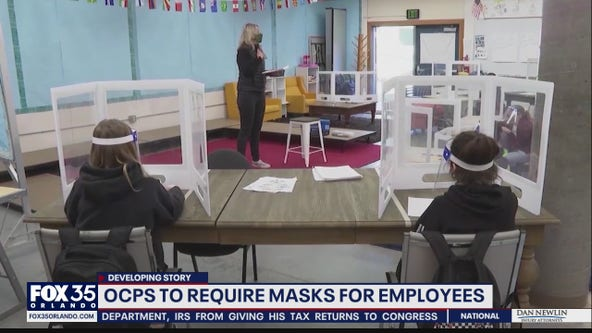 OCPS to require masks for employees