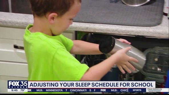 Adjusting your sleep schedule for school