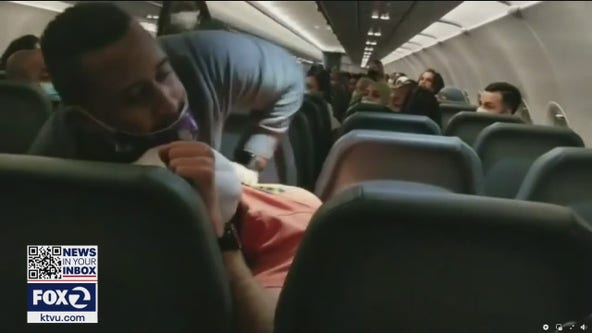 Flight attendants concerned about uptick in unruly passengers