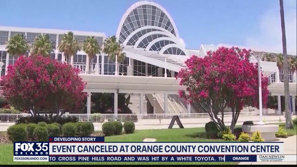 Event canceled at Orange County Convention Center