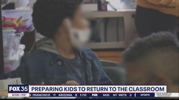 Preparing kids to return to the classroom