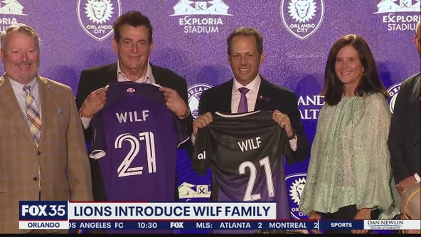 Lions introduce Wilf family to fans