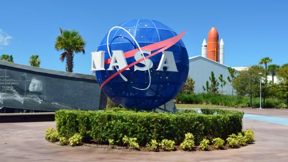MTV unveils new 'Moon Person' design at Kennedy Space Center