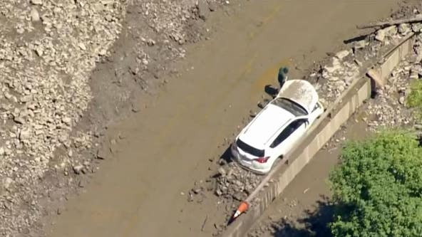 More than 100 trapped overnight, some in tunnel, after mudslide buried Colorado interstate