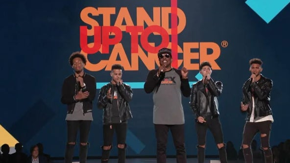 Celebrities 'Stand Up To Cancer' in telecast airing August 21