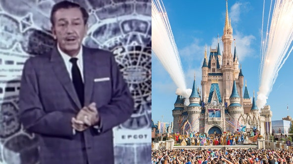 The history of Walt Disney World and its opening 50 years ago
