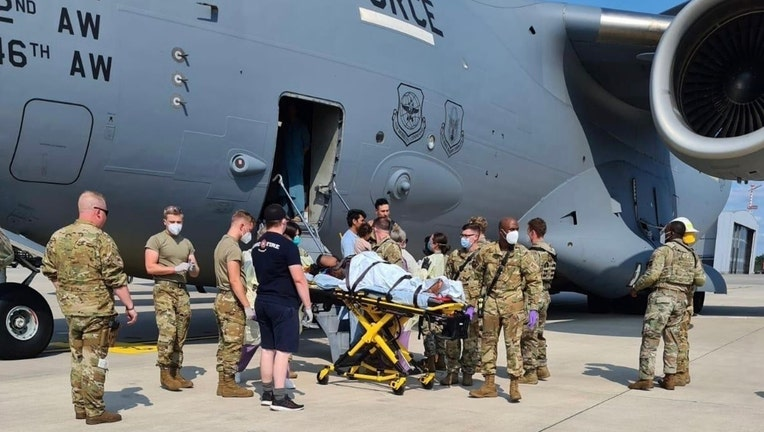 Afghanistan Withdrawal Medical Support