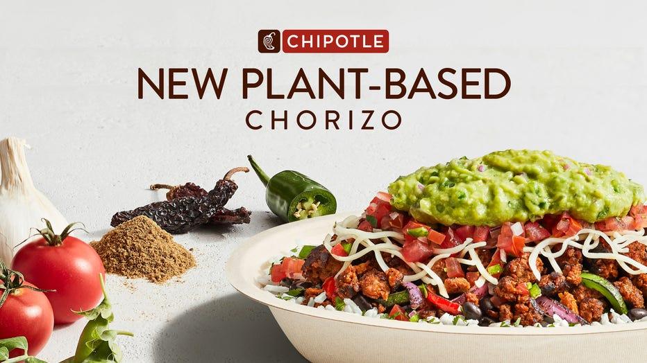 Chipotle new Plant-Based Chorizo