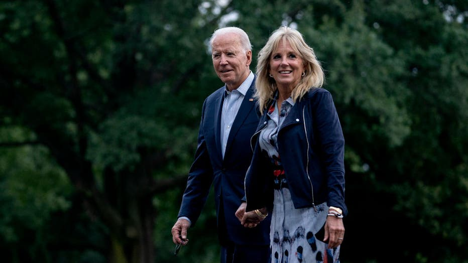 President Biden Returns To The White House From Camp David