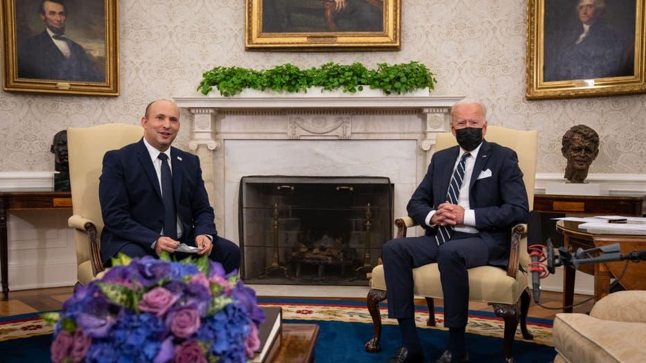 President Biden Welcomes Israeli PM Bennett To The White House